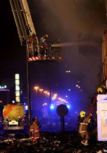 In Pics: Dubai blaze took almost five hours to contain, disrupted metro service