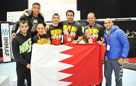 Shaikh Khalid hails Bahrain MMA team