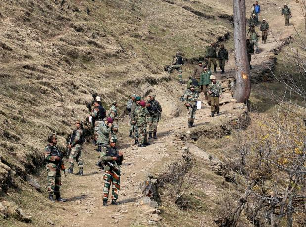India: Militants fight their way into army base in Kashmir