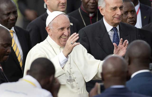 Despair born of poverty fuelling terrorism: Pope
