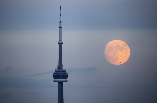 Stunning pictures of the final full moon before winter solistice