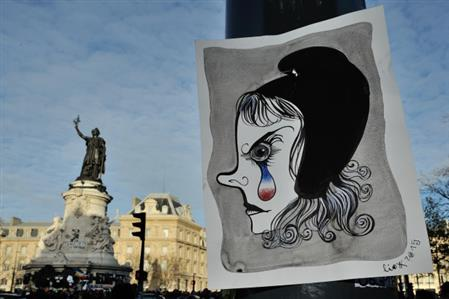 In Pics: Graffiti artists depict Paris' resilience