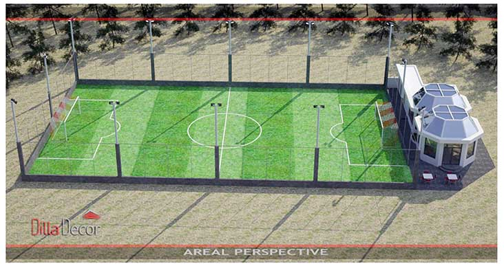 Football pitch and coffee shop planned in Galali