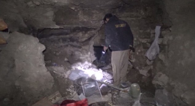 ISIS' secret tunnels found in Iraq with sleeping quarters, electricity, bomb making tools