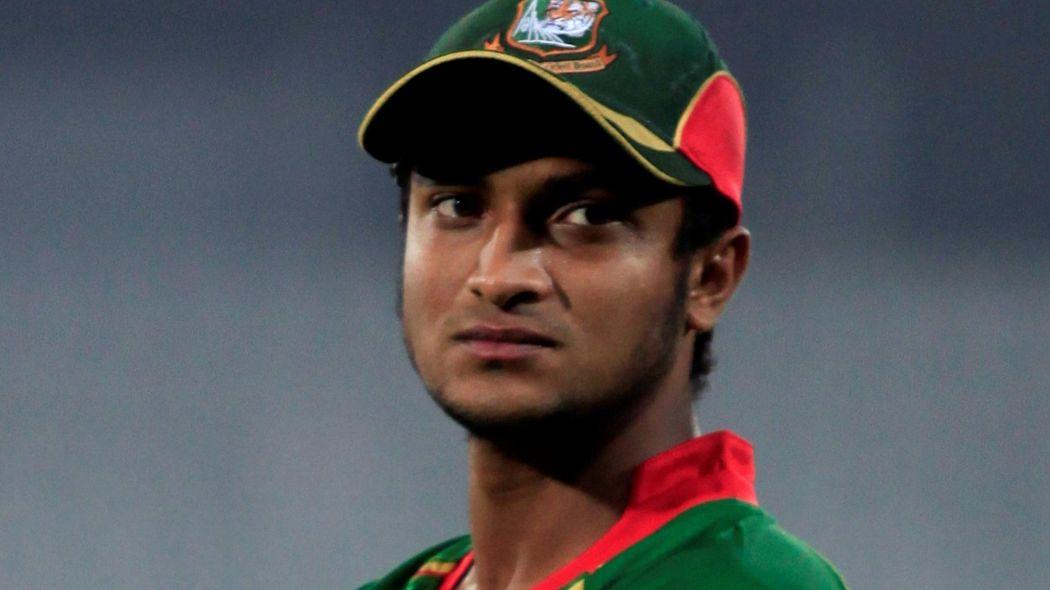 Bangladesh's Shakib banned for abusing umpire