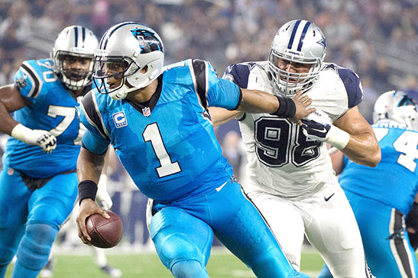 Panthers power past Cowboys