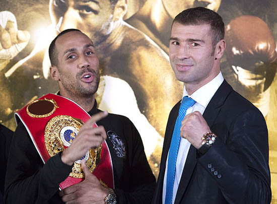 Bute looking to dethrone DeGale
