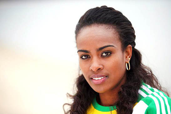Eaton and Dibaba World Athletes of the Year
