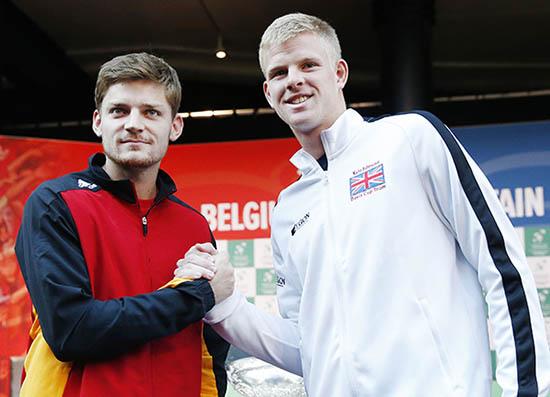 Britain's Edmund set for Davis Cup debut