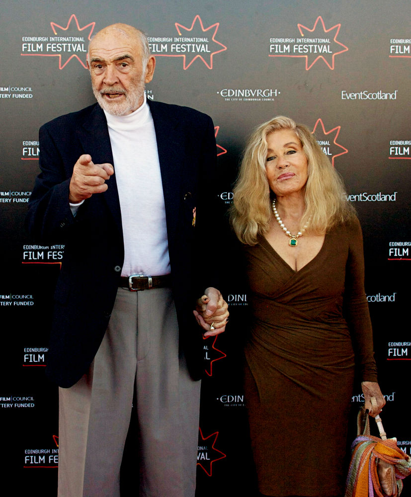 Celebs: Sean Connery's wife ordered to stand trial in ...