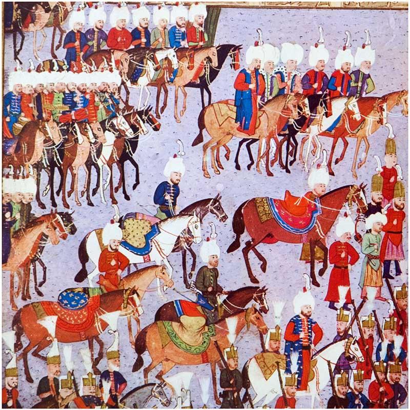 Calendar spotlights Islamic miniatures