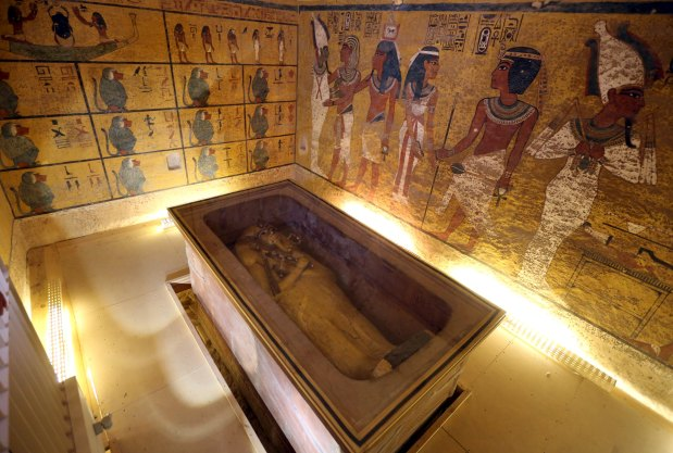 90 per cent chance of hidden rooms in Tut tomb: Egypt
