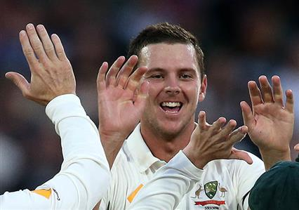 Hazlewood hammers New Zealand after review farce