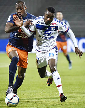 Lyon fall to Montpellier