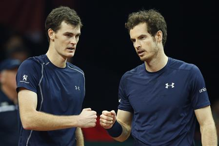 Murrays put Britain on brink of Davis Cup title
