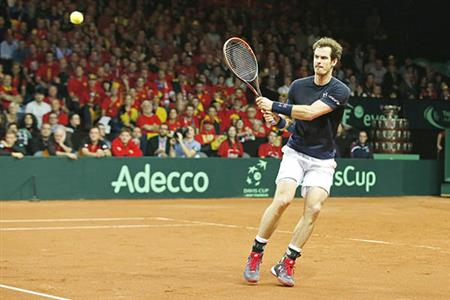 Davis Cup Final: Murray levels for Britain