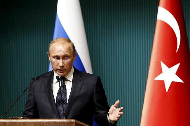 Putin orders sanctions against Turkey
