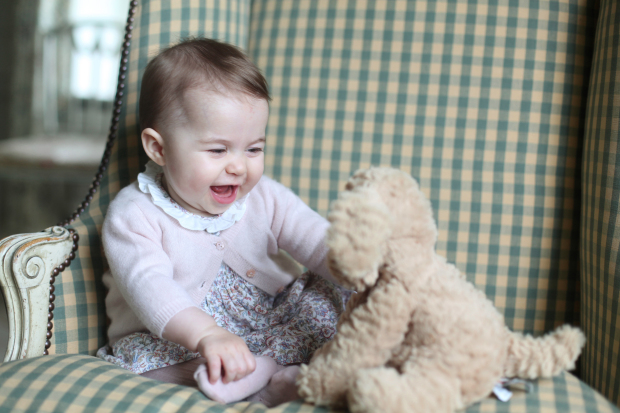 Adorable new photos of Princess Charlotte released