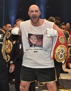 Fury crowned world champion