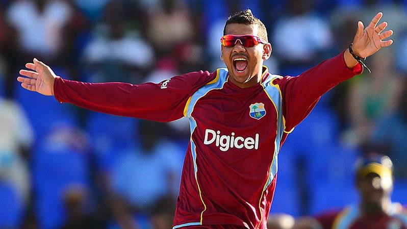 Narine suspended from bowling in international cricket
