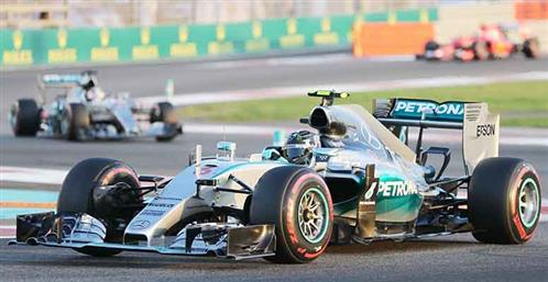 Rosberg signs off with fine victory