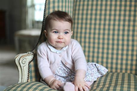 Cute new photos of Princess Charlotte released