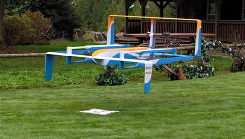 Amazon releases video showcasing unmanned delivery drones