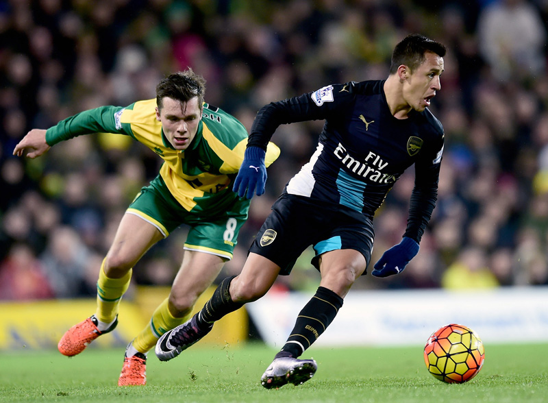 Arsenal held by gallant Norwich