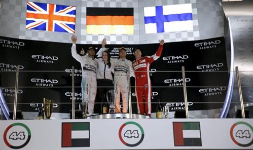 Abu Dhabi GP Rosberg ends F1 season on a hat-trick high