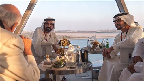 In Pics: UAE Royals and foreign dignitaries at Abu Dhabi Grand Prix