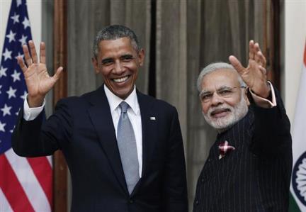 Obama to meet Indian PM Narendra Modi in Paris today