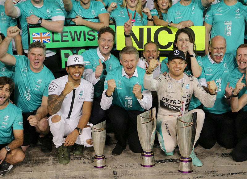 Abu Dhabi GP: Rosberg signs off with fine victory
