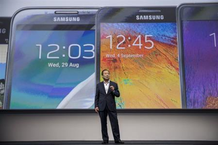 Samsung replaces mobile chief, promotes chairman's daughter