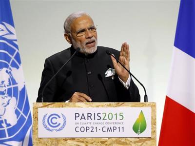 In Paris, Narendra Modi says India needs $100 billion for 'mitigation and adaptation'