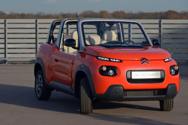motoring citroen 39 s convertible electric car e mehari to go on sale next year. Black Bedroom Furniture Sets. Home Design Ideas