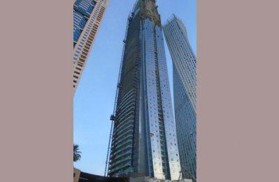 Damac tops out Dubai Marina residential tower