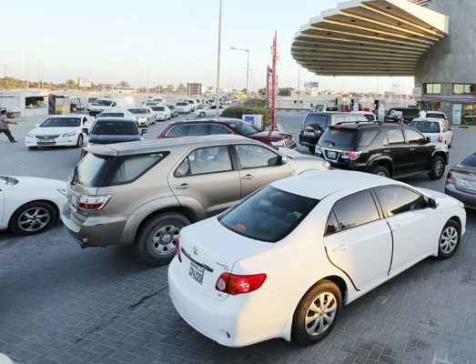 School bags online kuwait - Local News Long Queues At Petrol Stations