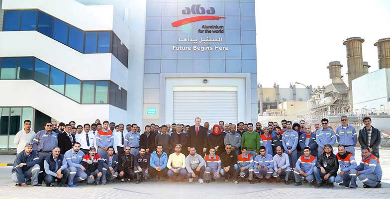 Alba achieves new training milestone