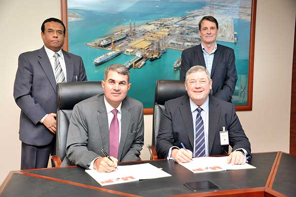 Asry signs services accord with UK firm