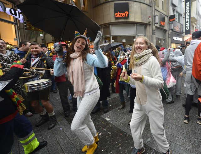 Sex attacks at Cologne Carnival
