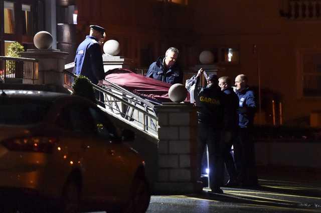 Shooting horror at Dublin hotel