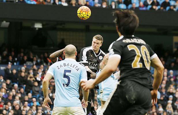 Premier League: Manchester City go down to Leicester