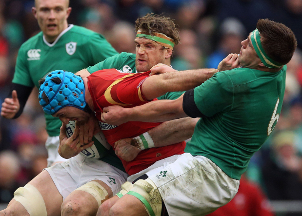 Ireland and Wales share brutal draw