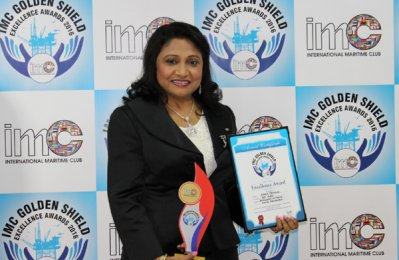 GAC executive wins global maritime honours