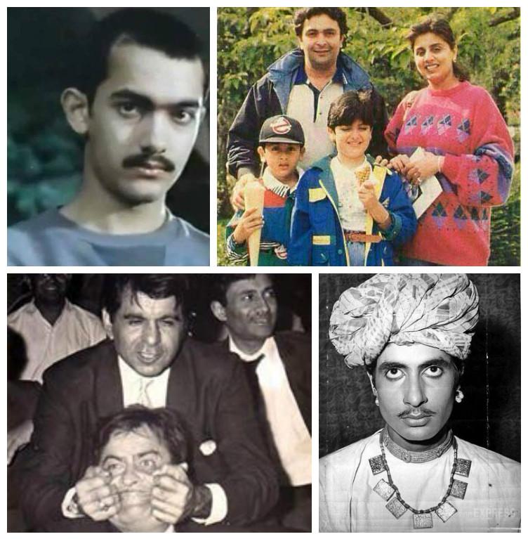 When Dillip Kumar pulled Raj Kapoor's cheeks: Rare photographs of Bollywood legends