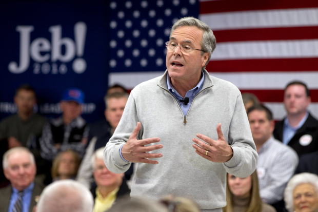 Bush bashes Trump, rivals for not attacking him