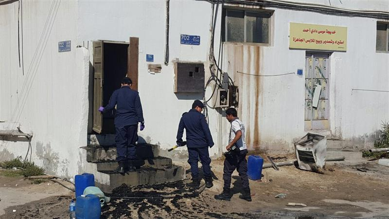 Blaze engulfs house in Sitra, one killed