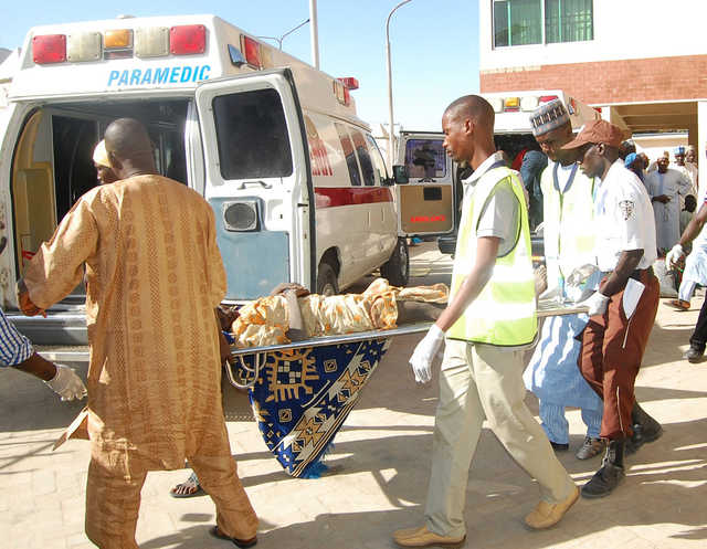 58 die in Nigeria suicide bomb attacks
