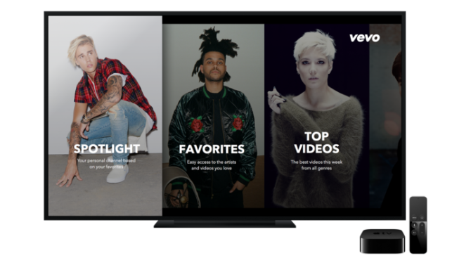 Vevo launches new apps for Apple TV and Android
