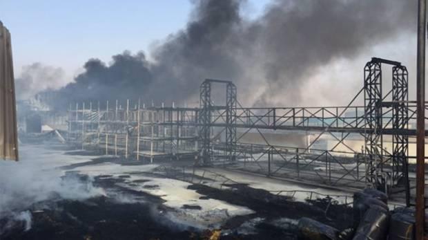 Fire guts warehouse in Ras Al Khaimah